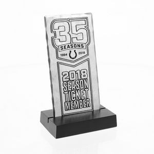 """The Ticket"" Plaque (Aluminum)"