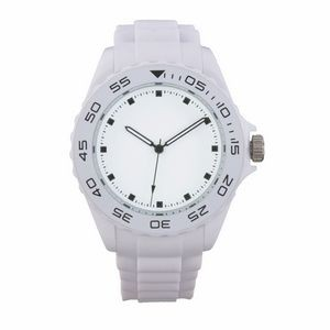 Beach White Sport Watch